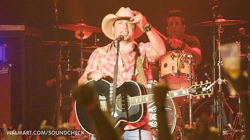 Jason Aldean on Walmart Soundcheck