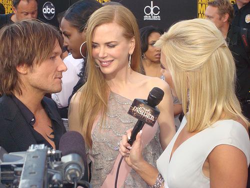 Keith Urban, Nicole Kidman and Allison DeMarcus